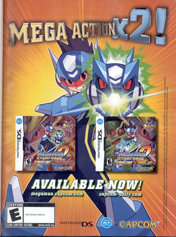 Box artwork for Mega Man Star Force 2.