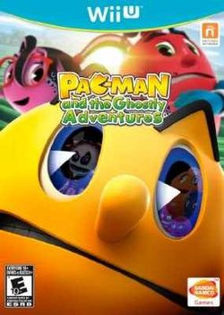 Box artwork for Pac-Man and the Ghostly Adventures.