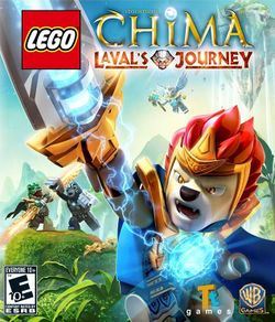 Box artwork for LEGO Legends of Chima: Laval's Journey.