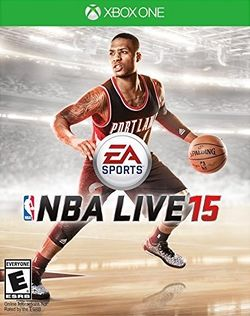 Box artwork for NBA Live 15.