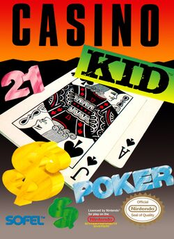 Box artwork for Casino Kid.