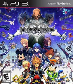 Box artwork for Kingdom Hearts HD 2.5 ReMIX.