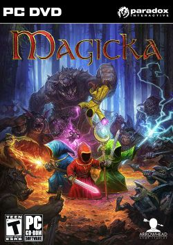 Box artwork for Magicka.