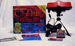 The console image for Virtual Boy.