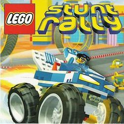 Box artwork for LEGO Stunt Rally.
