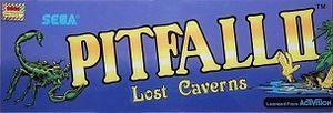 Pitfall II: Lost Caverns marquee