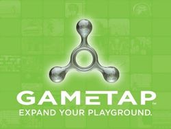 The logo for GameTap.