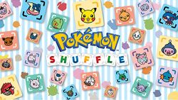 Box artwork for Pokémon Shuffle.