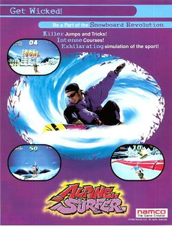 Box artwork for Alpine Surfer.