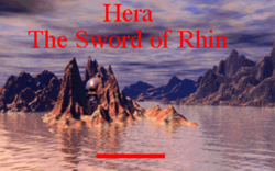 Box artwork for Hera: The Sword of Rhin.
