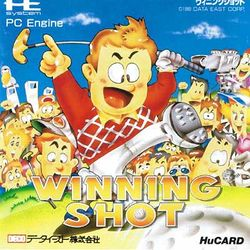 Box artwork for Winning Shot.
