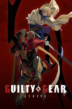 Box artwork for Guilty Gear Strive.