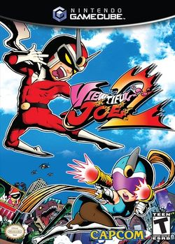 Box artwork for Viewtiful Joe 2.