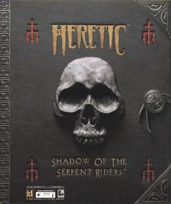 Box artwork for Heretic.
