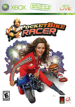 Box artwork for PocketBike Racer.