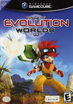 Box artwork for Evolution Worlds.