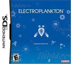 Box artwork for Electroplankton.