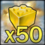 Lego Star Wars 3 achievement Goldie Blocks.png