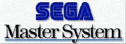 The logo for Sega Master System.