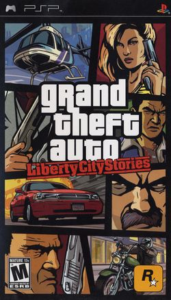 Box artwork for Grand Theft Auto: Liberty City Stories.