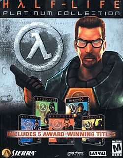 Box artwork for Half-Life Platinum / Half-Life Platinum Collection.