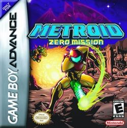Box artwork for Metroid: Zero Mission.