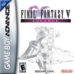 Box artwork for Final Fantasy V.