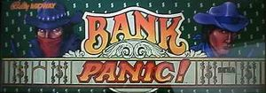 Bank Panic marquee