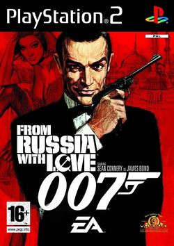 Box artwork for From Russia with Love.