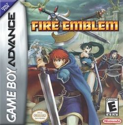 Box artwork for Fire Emblem.