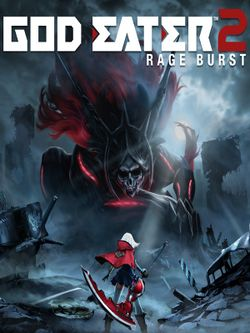 Box artwork for God Eater 2: Rage Burst.