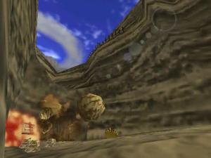 The Legend of Zelda: Ocarina of Time/Dodongo's Cavern
