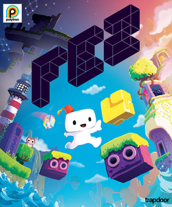 Box artwork for Fez.