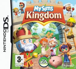 Box artwork for MySims: Kingdom.