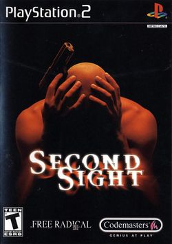 Box artwork for Second Sight.