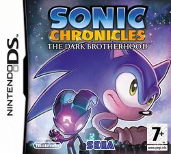 Box artwork for Sonic Chronicles: The Dark Brotherhood.