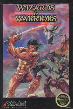 Box artwork for Wizards & Warriors.