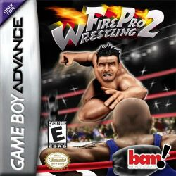 Box artwork for Fire Pro Wrestling 2.