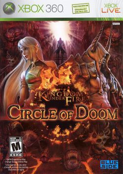 Box artwork for Kingdom Under Fire: Circle of Doom.