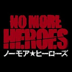 The logo for No More Heroes.