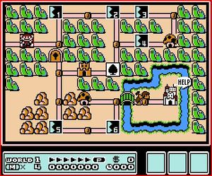 Mario 3 World Map.Super Mario Bros 3 Walkthrough Strategywiki The Video Game