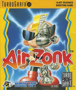 Box artwork for Air Zonk.