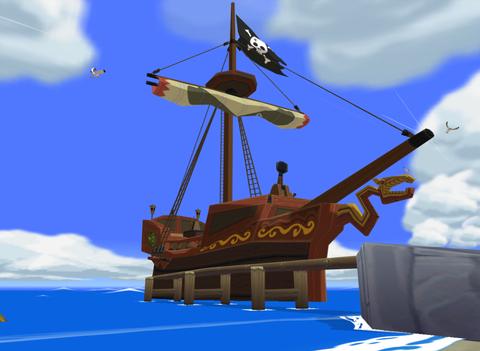 The Legend of Zelda: The Wind Waker/Pirate Ship