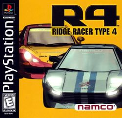 Box artwork for R4: Ridge Racer Type 4.