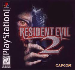 Box artwork for Resident Evil 2.
