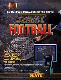 Box artwork for Street Football.