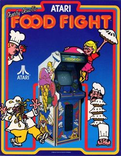 Box artwork for Food Fight.