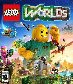 Box artwork for LEGO Worlds.