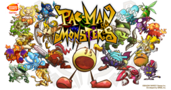 Box artwork for Pac-Man Monsters.
