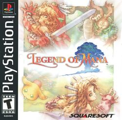 Box artwork for Legend of Mana.